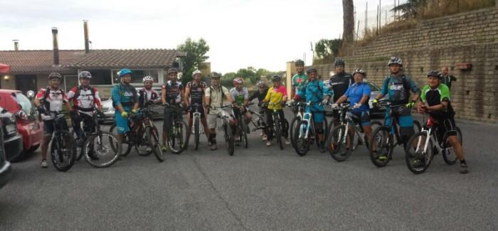 Uscita freeride notturna tra i salti del Bike Park e le Valli del Sorbo