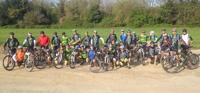 Con gli amici di RS Bike nel Parco di Veio