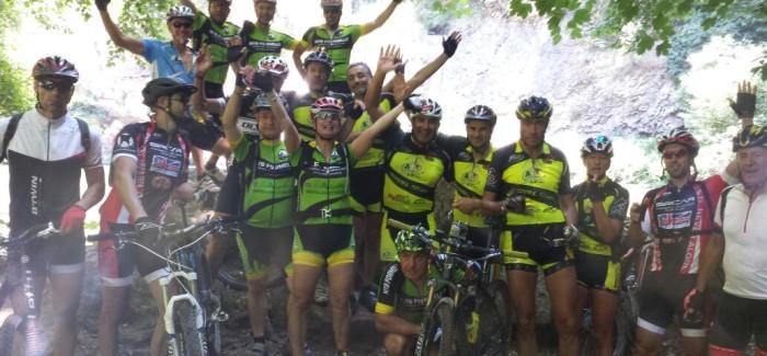 Alle cascate di Castel Giuliano con gli amici di A.S.P.