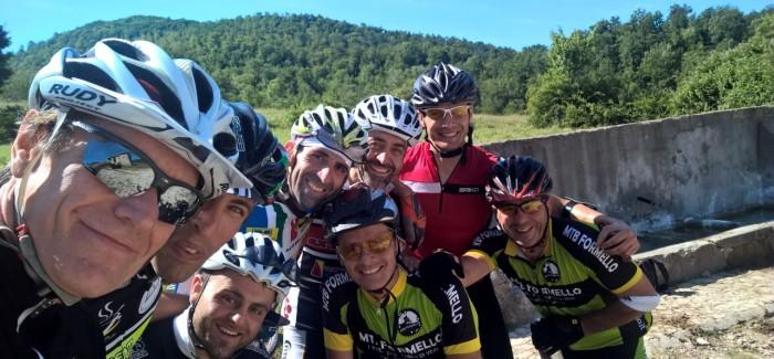 Sui Monti Sabini con gli amici di Extreme Bike