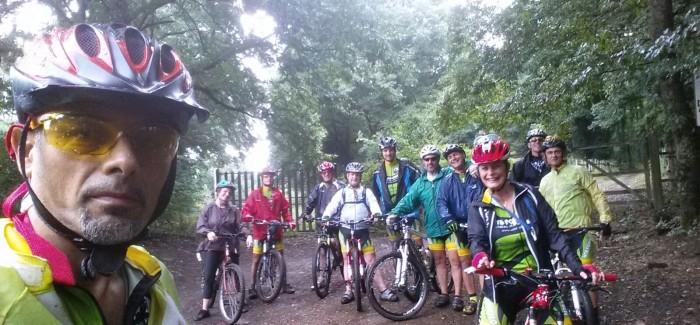 Giro nel Parco di Veio sotto la pioggia