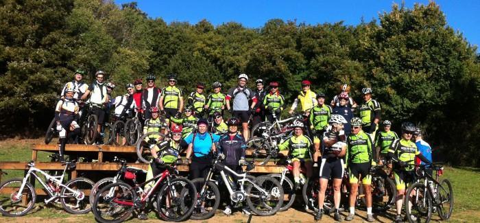 Francigena e Parco di Veio con gli amici di Roma Team