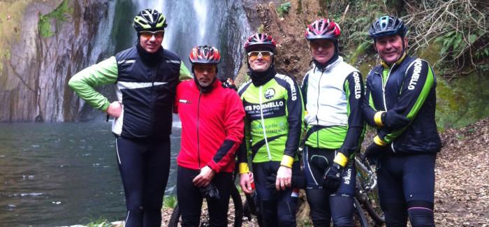 Uscita XCM alle Cascate di Castel Giuliano