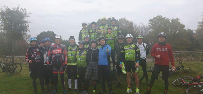 Al Lago di Martignano con gli amici di Bike Lab