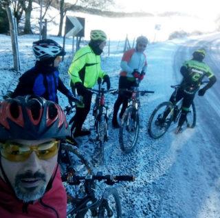 All'Eremo del Monte Soratte dopo la nevicata