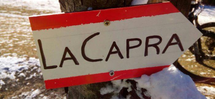 Nuovo trail Capra nel Veio Bike Park