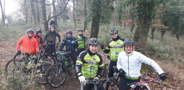 Testando il nuovo trail Capra nel Veio Bike Park