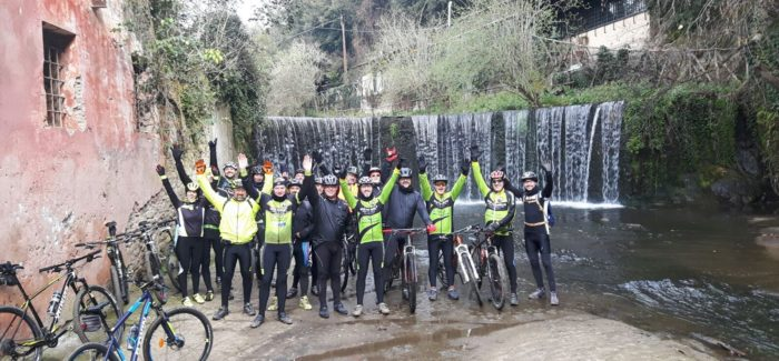 Uscita nel Parco di Veio pieno di bikers