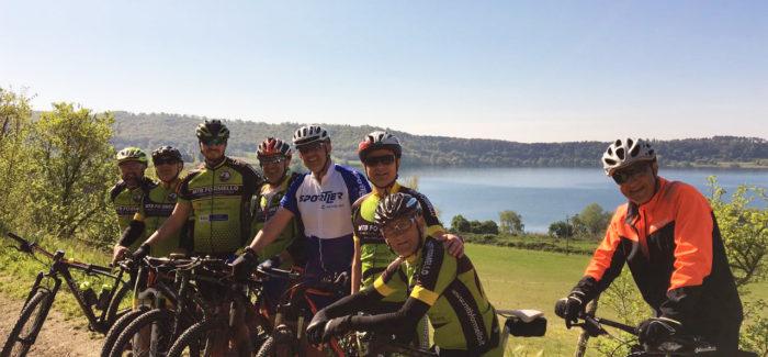 Uscita XC a Martignano con nuovi bikers
