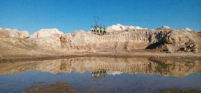 A Castel Giuliano con sosta alla cava mineraria