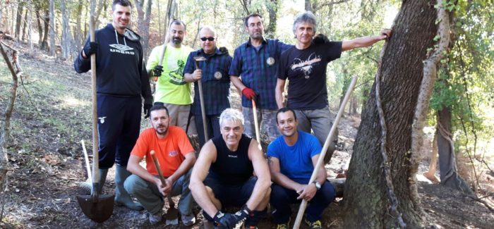 Manutenzione trail Capra completata