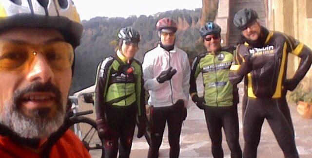 Pedalta della Befana a Castel Sant'Elia
