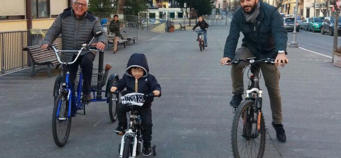 Tre generazioni in bicicletta!