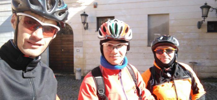 Altro che Burian… oggi a Calcata con il sole!