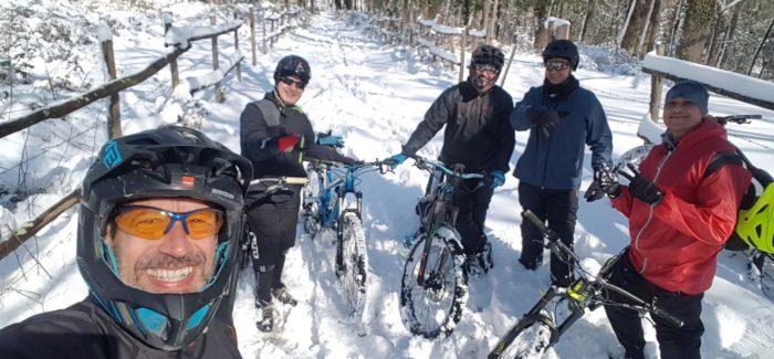 Snowy Veio Bike Park
