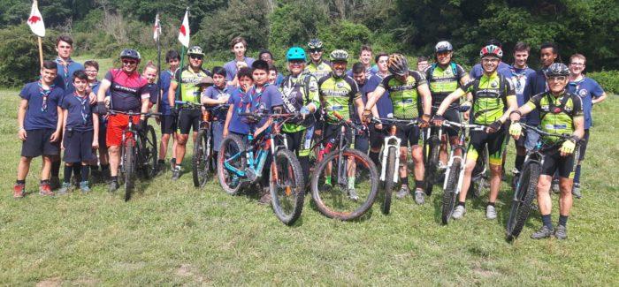 Incontro con gli scout di Campagnano nella Valle del Sorbo