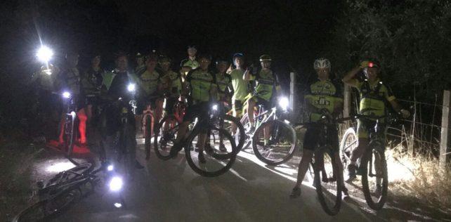 Notturna nel Veio Bike Park