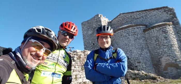 Prima pedalata dell'anno sul Monte Soratte!