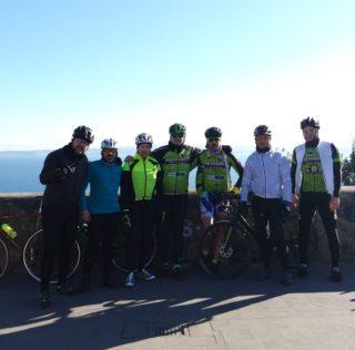 Giro del Lago di Bracciano in BDC con foto al Bastione della Sentinella