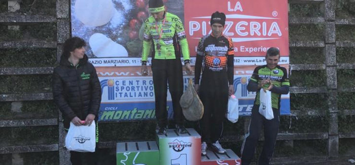 Soriano Bike Etreme 2019 Ettore Nurzia 4° classificato M6
