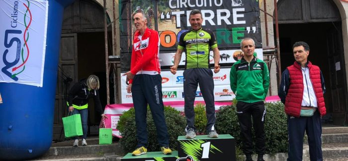 Ettore Nurzia 1° classificato M6 alla GF Campo Lupino 2019