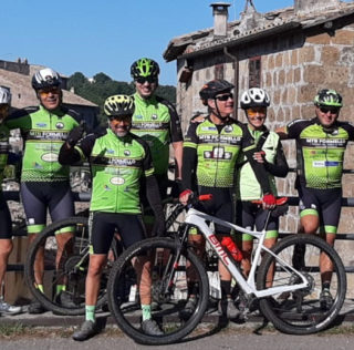 Giro MTB a Calcata