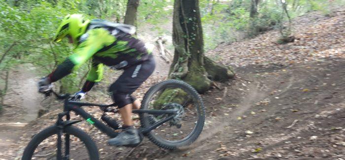 Mattinata sui trails della Valle del Sorbo