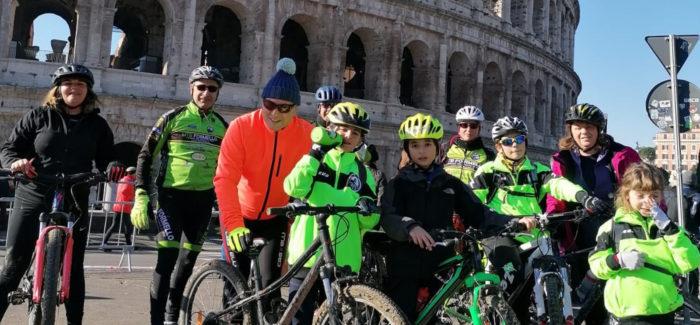 Capodanno in bici a Roma