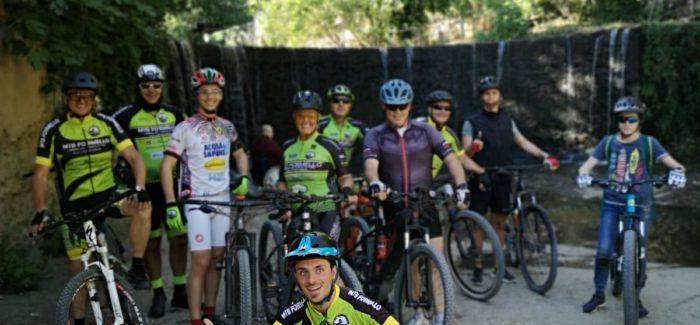 Si torna a pedalare in gruppo, si ricomincia da Veio!