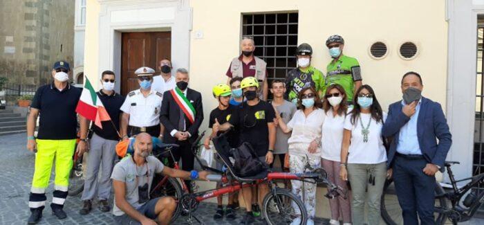 Formello accoglie gli amici di PedalAbile lungo la Via Francigena