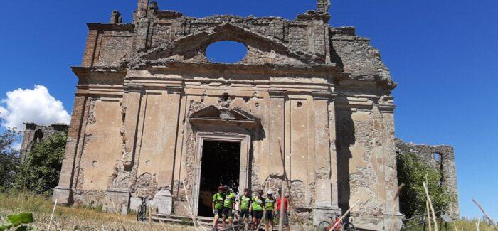Le antiche rovine di Monterano