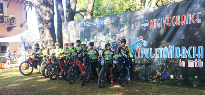 "La SpoletoNorcia in MTB edizione ""Bike Days"" 2020"