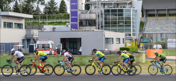 Luca Ronconi 3° posto a Vallelunga