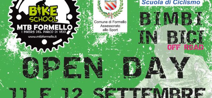 MTB Formello Bike School Open Day – 11 e 12 Settembre